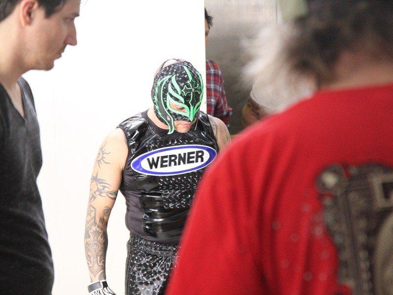 TV Shoot Werner