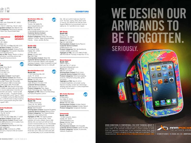 Armpocket B to B print ad